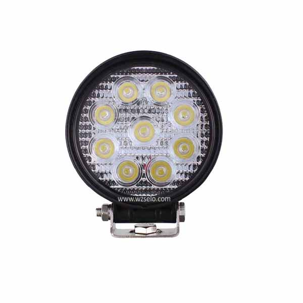 LED Round Work Lights MZ-R27