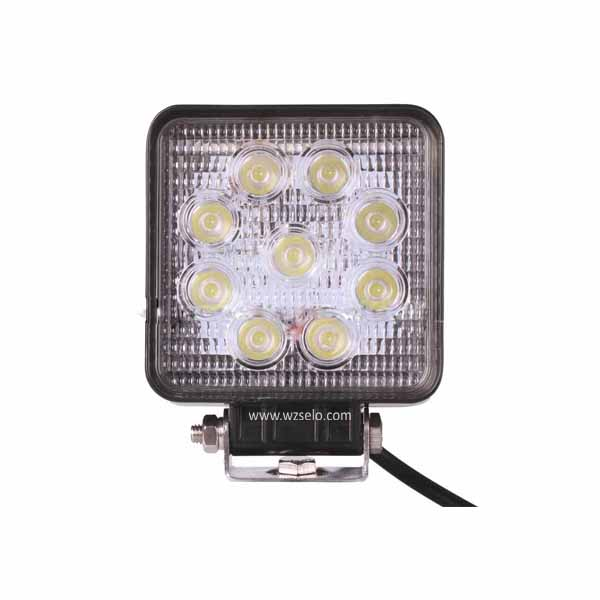 LED square work lights MZ-S27-flood